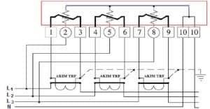 üç fazlı akım trafo